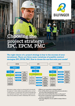 Bilfinger Tebodin Choosing the project strategy